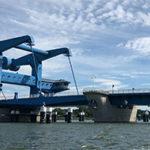 Peene Brücke Wolgast