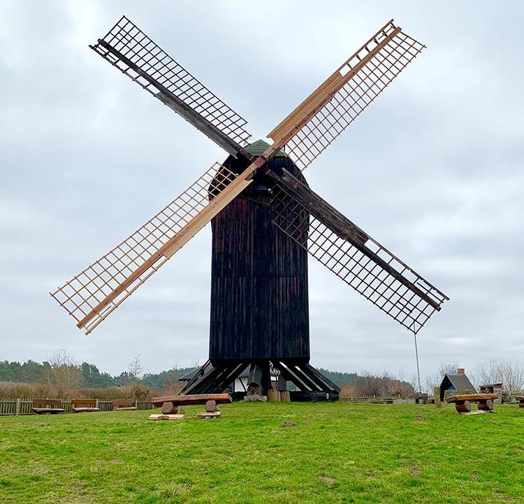 Bockwindmühle Pudagla auf Usedom