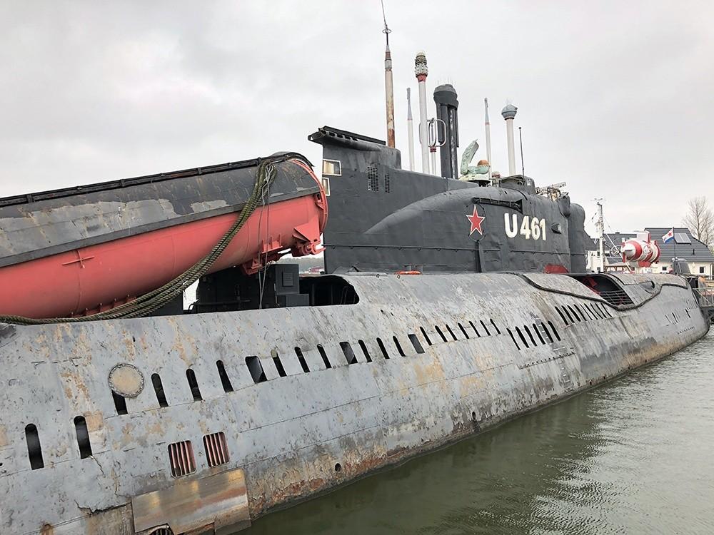 U-Boot U-461 Peenemünde
