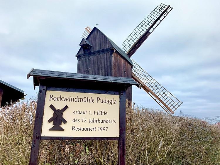 Bockwindmühle Insel Usedom