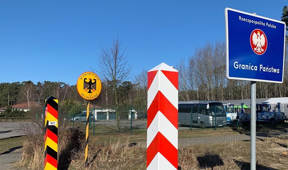 Insel Usedom Grenzübergang Swinemünde