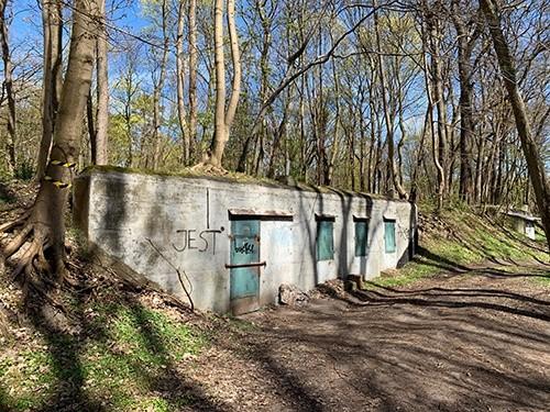 Bunker auf der Insel Usedom