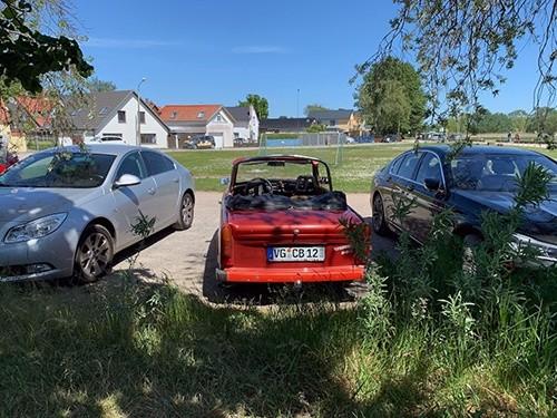 Trabant auf Usedom