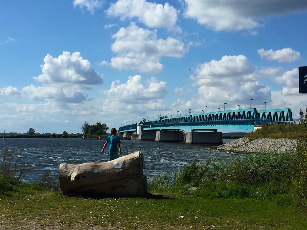 Peene Idyll an der Zecheriner Brücke