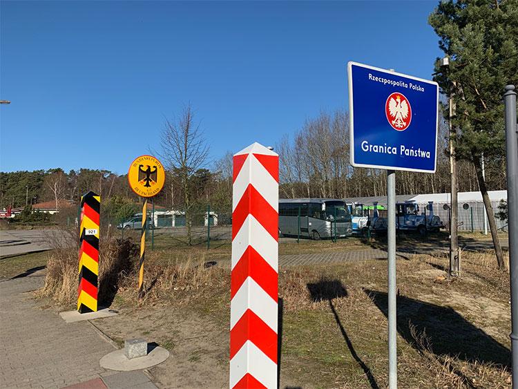 Grenzübergang Ahlbeck-Swinemünde