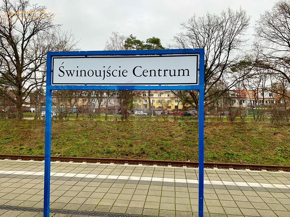 Bahnhof Swinemünde